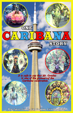 Mr. Goudas documented his Caribana experience and involvement in the  book titled, One Caribana Story, the cover of which is portrayed on the left.  This book is considered a collector item for its deptiction of the CN Tower which was once the tallest building in the world.  It was enomous amount of work to enhance the photos and accurately portray this festival which the second largest after the Trinidad and Tobago Carnival.  Mr. Goudas spent a considerable amout of time and effort in a giving a realistic view to an outsider who is not familar with the word, Caribana, and festival.   In fact, he emphasized that the participants are not a bunch of idiots dressed up in costumes and  jumping up and down all over the place, but the work of some very skilled and talented people,  bringing to Canada a culture that has prevailed for many, many years.