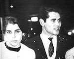 Mary Papadaki During the last few months of being released from the air force, he engaged a beautiful young woman named Mary Papadaki.  The photo shows Mary and Spyros walking in downtown Athens (1966).  Mary Mary Papadaki will be discussed later on in the biography.  The engagement took place at a time when the Greek government was in a state of uncertainty and chaos since in the last few years the government had changed half a dozen times.  After being released from his duties in the air force, Spyros Peter Goudas migrated to Canada in the spring of 1967.